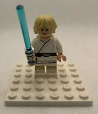 Lego Minifigure Figure Luke Skywalker Tatooine Detailed 75052 75059 sw0551