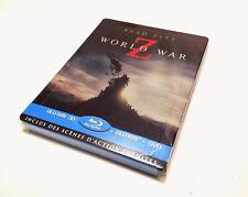 World War Z - Steelbook France Blu-Ray/DVD 2D/3D Version Longue incluse