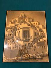 """M. C. Escher Gallery 92 Frameless Art Poster Balcony23"""" H X 19"""" W"""