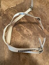 Warrior Lacrosse White Helmet Chin Strap