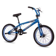 "20"" Zoll BMX FAHRRAD CHRISSON DIABLO 360 Grad Rotor 4 PEGS ALU AHEAD blau matt"