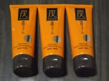DAISO Japan Charcoal Cleansing Foam Face Wash 80g x 3 F/S Band New sumi