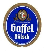 Germany - Beer Label - Privatbrauerei Gaffel, Koln - Gaffel Kolsch