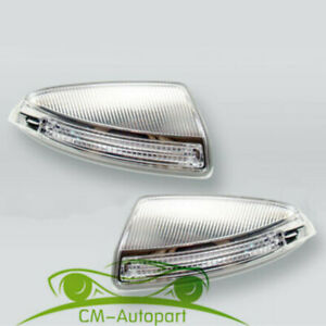 New A Pair Door Mirror Turn Signal Lamps1649061300/400 For MB ML GL W164 09-10