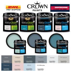 Crown Bathroom Kitchen 2.5L Midsheen Mould Guard Breath Easy Paint All Colours