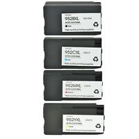 Ink Cartridge For HP 952XL Black / Cyan / Magenta / Yellow Officejet 7740 8715