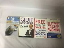 4x Quit Smoking Books Free Yourself from Smoking Paul McKenna Quit Smoking Today