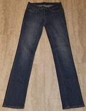 Women's London Jean Stretch Denim Blue Jeans ~ Sz 4 ~ Cotton Blend