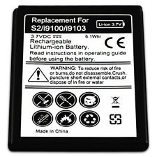 B2G1 Free Replacement Battery For Samsung Galaxy S II 2 SII S2 SGH-i777 T989