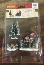Lemax Figurines - FIRST TIME SKATERS (Set of 3) //NIB//