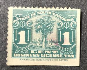 South Carolina Business License Tax 1c