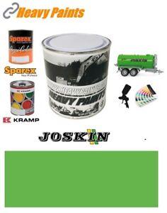 Joskin Spreader Green Paint High Endurance Enamel Paint 1 Litre Tin