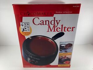NEW ChocoMaker Candy Chocolate Maker Melter Molds Fondue Collection Model 9830