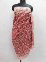 Anokhi  Design Sarong Pario Cover up/ Bikini Cotton Beach Wear Hand Block print