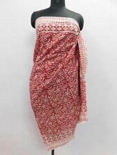 Anokhi  Design Beach Wear Hand Block Pario Cotton Cover up Sarong/ Bikini 72x42*