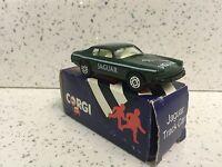 Corgi Juniors JAGUAR XJS GREEN Car Made in Great Britain Boxed Toy.