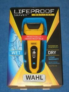 Wahl 7061 LifeProof Foil Shaver for Men, Electric Shaver, Rechargeable NEW