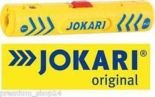 JOKARI Abisolierer Kabelentmantler Coaxi No.1 für NYM Kabel & Elektro Wand Dosen