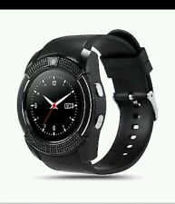 Black Modern Smart Watch Mobile Phone Bluetooth SmartWatch with SIMSLOT UK STOCK
