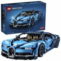 LEGO Technic 42083 - Bugatti Chiron Automodell Maßstab 1:18 W16-Motor 3599 Teile