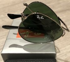 Ray Ban  Aviator Classic RB3479 Folding / Foldable Green / Silver 58mm
