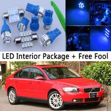 10000k Blue LED Interior Package Light Bulb 14pcs KIT Fit Volvo S40 2004-2006 M