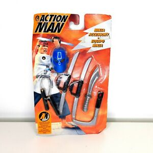 Action Man Hasbro Carded Unopened Boxed NINJA EQUIPMENT SET 1994 Accessories