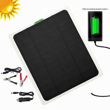 12v 20w Solar Panel Trickle Charge Battery Charger For Maintainer Marine Rv Car