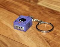 Nintendo Gamecube Game Cube GC Console Keychain Keyring