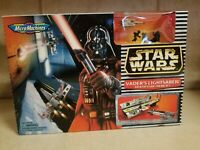 1996 Star Wars Micro Machines VADER'S LIGHTSABER/ DEATH STAR TRENCH