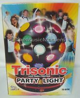 "Lighted 5"" Color Rotating Party Ball Lamp Spinning Disco Dance Light Decoration"