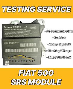 FIAT 500 51918197 AIRBAG ECU SRS MODULE NO COMMUNICATION REPAIR TESTING SERVICE