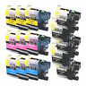 14 PACK LC103 *VERSION 3 CHIP* High Yield Ink Cartridge for BROTHER MFC-J875DW