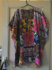 Womens Hippy patchwork free size Kaftan top