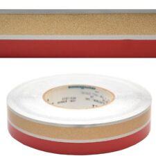 LARSON / GLASTRON 05726621 1 3/8 INCH SILVER / GOLD / RED BOAT PINSTRIPE / TAPE