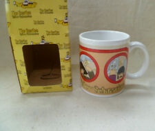 ~vintage VANDOR ~ BEATLES ~ PORTHOLES ceramic MUG ~ MIB ~ Yellow Submarine~ 1999