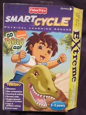 Factory Sealed Go Diego Go Extreme Rumble with Dora & Dinosaurs Smart Cycle