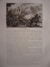 Gravure de André MASSENA Masséna Maréchal Prince d'Essling Duc de Rivoli Né Nice