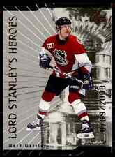 1998-99 Upper Deck Lord Stanley's Heroes Quantum 1 Mark Messier #LS11