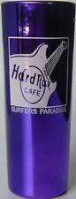 "Hard Rock Cafe MELBOURNE 2000s 4"" SHOT GLASS Metallic PURPLE Cordial HRC Cordial"