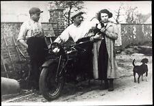 photo d'une moto ancienne