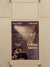 L'ULTIMA BATTUTA commedia regia David Seltzer locandina orig. 1988
