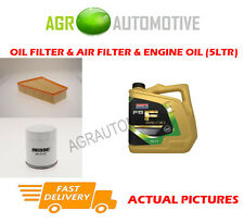 Essence huile filtre à air kit + fs f 5W30 huile pour ford s-max 2.0 203 bhp 2010 -