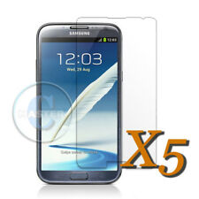5pcs INVISIBLE PROTECTION HD SCREEN PROTECTOR for SAMSUNG GALAXY NOTE 2 II N7100