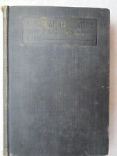 American Literature by Roy Bennett Pace, Revised Edition, 1926 HC, textbook
