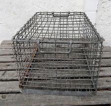 Stabile Transportbox Stapelbox große Transport Gitter Box Draht Korb mit Deckel