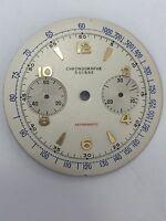 Vintage Chronographe Suisse Dial Quadrante  34 mm