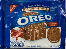 NEW LE 2020 NABISCO OREO GINGERBREAD FLAVOR COOKIES 12.2 OZ (345g) PACK HOLIDAY