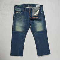 Mens DIESEL THAVAR Jeans W30 L34 Slim Fit Skinny leg Distressed denim Faded wash