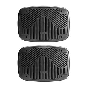 "Magnadyne G69-WN Black 6"" x 9"" Satin Finish Replacement Grills (sold in pairs)"